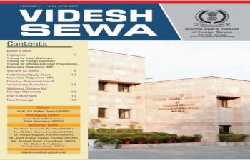 SSIFS Newsletter - 'Videsh Sewa' Vol V