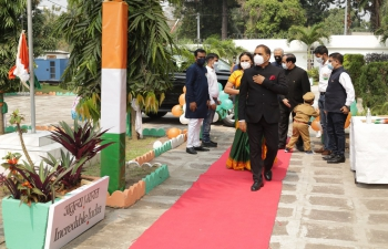 Celebration of 75 th Independence Day of India.