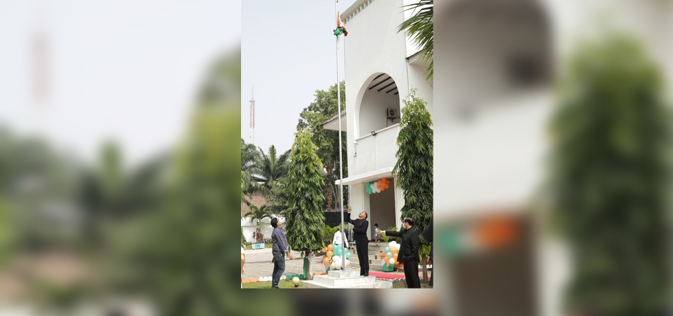 Celebration of 75 th Independence Day of India